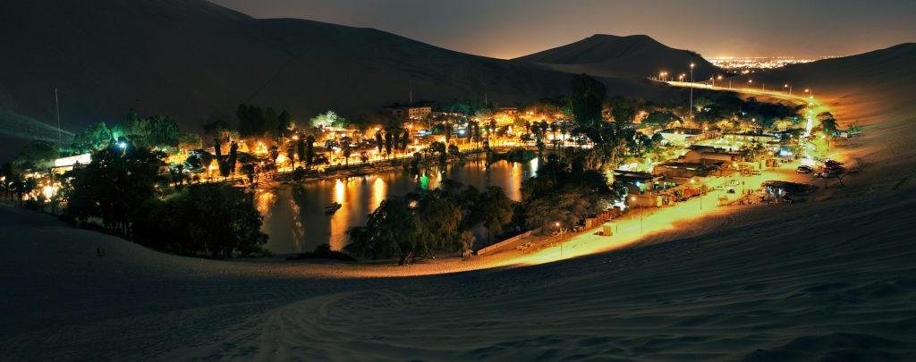 24 Hours - Travel in Night Huacachina