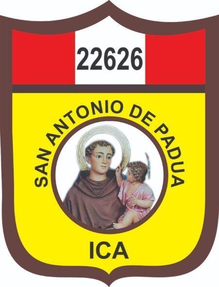 "Insignia de la I.E. Nº 22626 ""San Antonio de Padua"""
