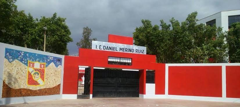 Foto: Institución Educativa Daniel Merino Ruíz del Distrito de la Tinguiña