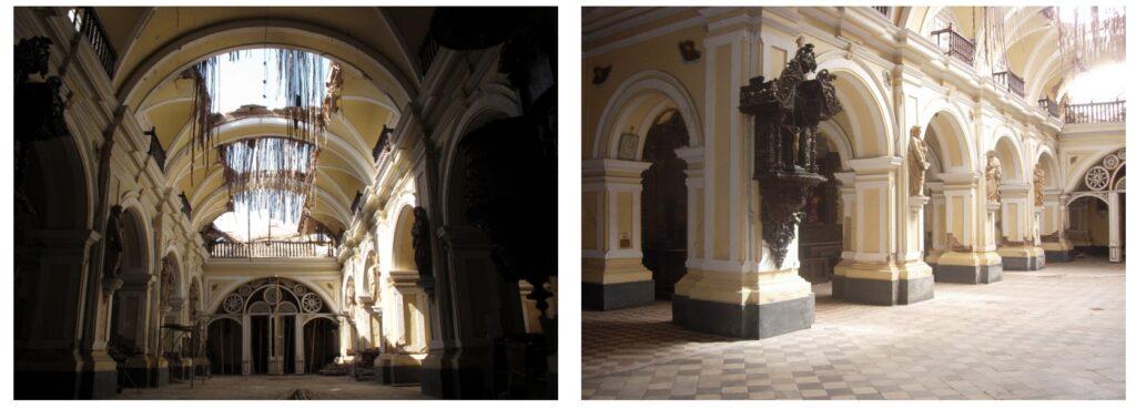 Interior de la Catedral de ICA