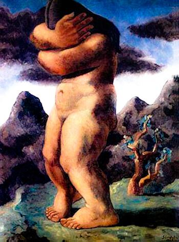 """Pintura de Sérvulo Gutiérrez """"Los Andes"""""""